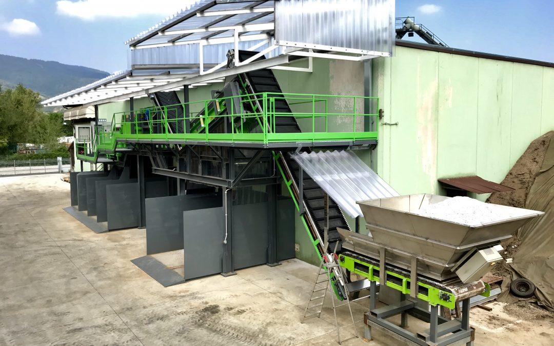 Nuovo impianto per la valorizzazione dei rifiuti e metalli misti